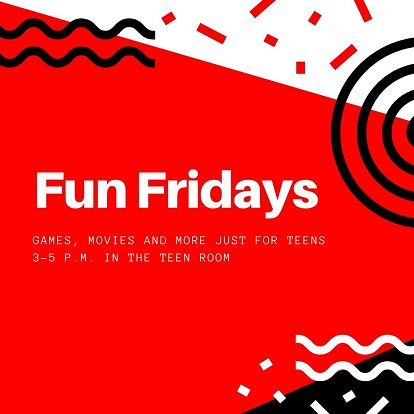 Fun Fridays event flyer