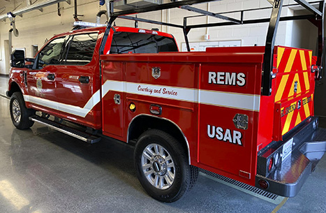 USAR support vehicle