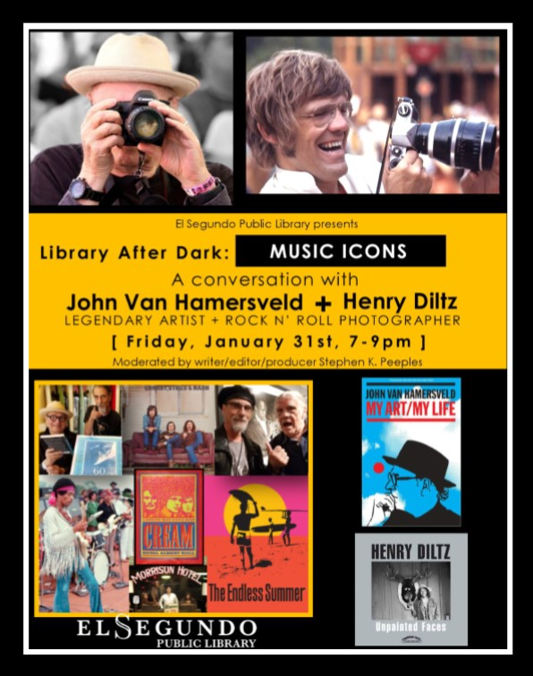 library after dark flyer