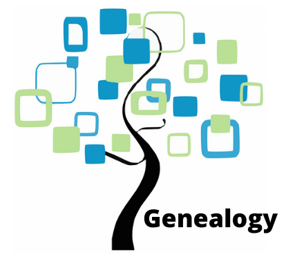 Image of tree and word genealogy