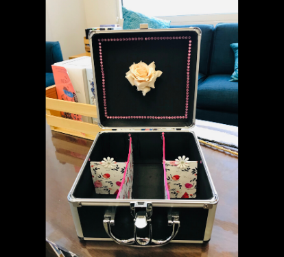 Photo of decorated box